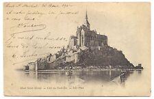 mont-saint-michel    coté du nord-est