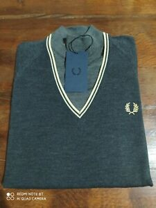 "Girocollo  Fred Perry  TG. 38"" - S"