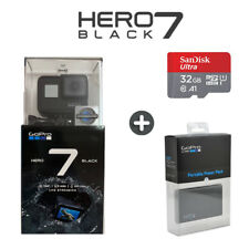 GoPro Hero 7 Black - 4K60 Ultra HD HyperSmooth + 32GB SD + Portable Power Pack