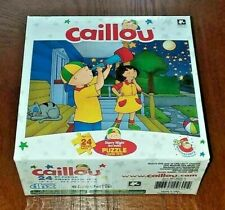 """NEW 24 pc PUZZLE ~ CAILLOU 25th Anniversary STARRY NIGHT 12"""" x 9"""" ~ Ages 3+"""