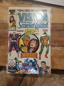 The Vision and the Scarlet Witch #12 (Nov 1985, Marvel)