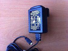 GENUINE ORIGINAL TECHNICS TESA5-0500700-B POWER SUPPLY AC ADAPTER 5V 0.5A