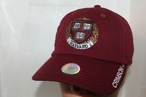 HARVARD UNIVERSITY CREST HAT,CAP One Size Fits Most All       Harvard       NEW