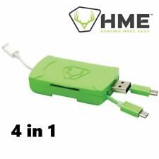 Stealth Cam Hme 4-In-1 Ios & Android Sd & Micro Card Reader Stc-Qmcr