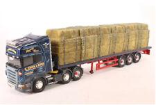 Corgi Modern Heavy Haulage CC13721 Scania Flatbed & Straw Load G Owen & Son 1/50