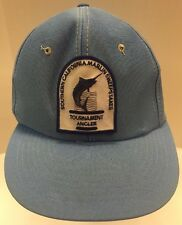 Southern California Marlin Sweepstakes Tournament Angler SnapBack Hat Cap Men OS