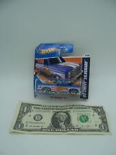 Hot Wheels '83 Blue Chevy Silverado HW Racing #6 - 2011 - Short Card