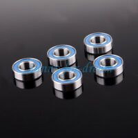 for HSP 4PCS 10*15*4 mm Blue Rubber Sealing 6700ZZ Replacement Ball Bearing