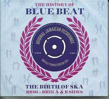 THE HISTORY OF BLUE BEAT THE BIRTH OF SKA BB101 -BB125 A & B SIDES - 3 CD BOXSET