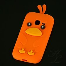 Samsung Galaxy Ace Duos s6802 silicone Case Housse de protection étui Chicken Orange 3d