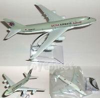 QATAR AIRWAYS Boeing 747 Airplane 16cm DieCast Plane Model