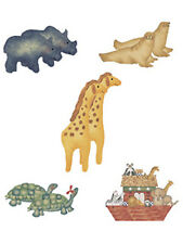 Noahs Ark Animals Country Noah 25 Wallies Decal Stickers Nursery Wallpaper Walls