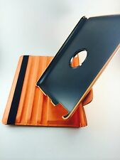 ORANGE 360° Rotating  iPad 4 / 3 / 2 SMART Leather Case + Protector + Stylus