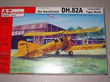 "1/72 Scale AZ Models De Havilland DH.82 Tiger Moth ""Long Tailfin"""