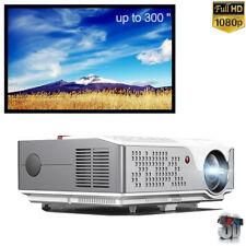 4K Projector 6000 Lumen Home Theater Led Projector Hdmi 3D Hd Video Projector