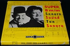 *** FILM SUPER NB SONORE 124 METRES - LAUREL ET HARDY / OEIL POUR OEIL 1929 ***