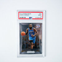 2012-13 Panini Prizm #95 - James Harden - PSA 9 *Mint* - Graded Basketball Card