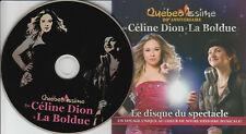 QUEBEC ISSIME 20e Anniversaire de Celine Dion a La Bolduc (CD 2014) 11 Chansons