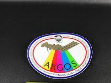 Autocollant sticker ESPACE SPACE SATELLITE NASA ARGOS