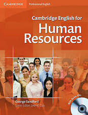 Cambridge English for Human Resources Student's Book with Audio CDs (2) by George Sandford (Mixed media product, 2011)