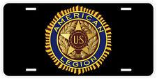American Legion Aluminum Novelty Car Auto License Plate