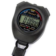 Cronómetro LCD Digital Profesional Chronograph Temporizador Contador Deportes