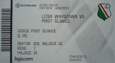 mint TICKET Polen 2017/18 Legia Warszawa - Piast Gliwice