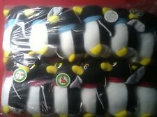 wholesale bulk new plush toys 12 X  penguins soft fill free postage