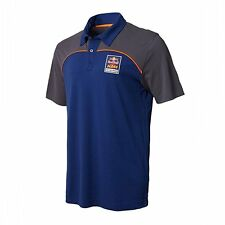 Red Bull KTM Factory Racing Race Day Polo Navy/Asphalt LARGE