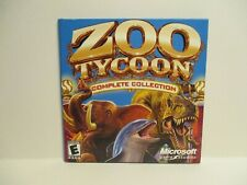 Zoo Tycoon:Complete Collection (PC, 2003) Microsoft Game Studios Blue Fang Games