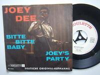 """Joey Dee- Bitte Bitte Baby/Joey´s Party 7""""  Vinyl: mint(-)  / Cover: mint -"""