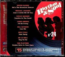 RHYTHM & SOUL N°24 - DISCO FUNK BLACK MUSIC MOTOWN - CD COMPILATION [1962]