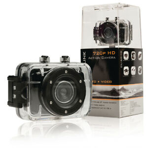 """Camlink CL-AC10 HD Action Camera 720P 2"""" Touch Screen - Black"""