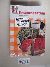 Lotto stock 10 libri nuovi di cucina ( A 4 B 1)