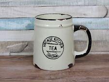 Vintage cuisine crème céramique rustique tea mug