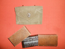 U.S.Army: Wwii First Aid Pouch and Dressing First Aid Wwii .used
