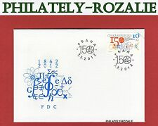 Czech Republic 2012 FDC First Day Cover ( The Union of Czech Physicists ) 714