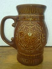 Poland - Kufel do piwa Chmielaki 1986 Krasnystaw duży - Ceramic Beer Stein