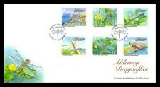 Alderney Aurigny 2010 libellules FDC  neuf ** 1er choix