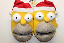 New Simpson Flash Slipper Bedroom Winter Slipper Gift Holiday Santa Large 11/12