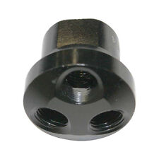 "Aluminum Dome Manifold - 3 Way Adaptor 1/2"" NPT Inlet x 1/4"" NPT Outlet - FPM84A"