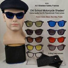 American Optical Flex-Fit Antique Sunshades w/ Side Shields - 46 Medium