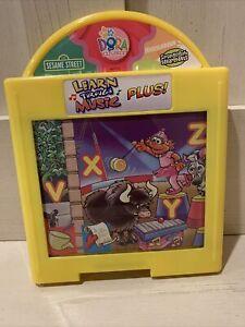 Fisher Price Learn Through Music Plus Cartridges Sesame Street Dora Sponge Bob
