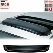 WTG 38 inch 980mm JDM Style SUN/MOON ROOF GUARD SMOKE RAIN DEFLECTOR VISOR