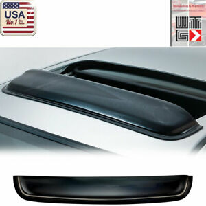 "WTG 38"" / 980mm JDM Style SUN/MOON ROOF GUARD SMOKE RAIN DEFLECTOR VISOR"