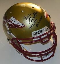 Bobby Bowden Signed Florida State Full Size Authentic Helmet w/Champs - Proof