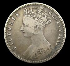 More details for victoria 1849 godless silver florin - fine
