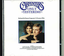 Carpenters - Only Yesterday 20 track greatest hits cd,tracks on pic 2