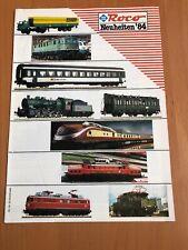Roco Katalog Modellbahn Modellbau Neuheiten 1984 84 Rheingold BR 44 150 194 Auto