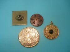 Lot de 4 Médailles Ésotériques